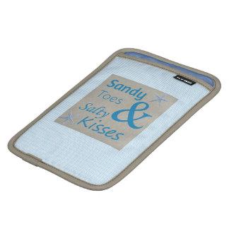 Housse Pour iPad Mini Orteils de Sandy et citation salée de la vie de