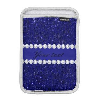 Housse Pour iPad Mini Paillettes chiques et diamants de marine
