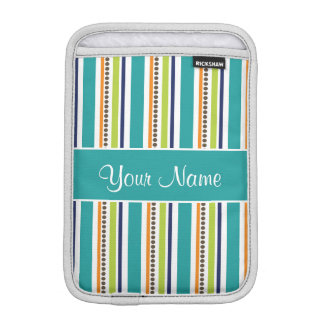 Housse Pour iPad Mini Rétros rayures et taches géniales