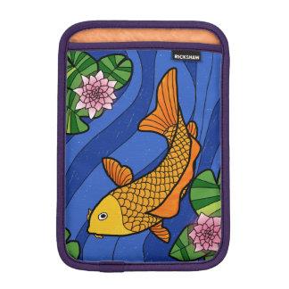 Housse Pour iPad Mini Style japonais Koi dans l'eau avec Lillies