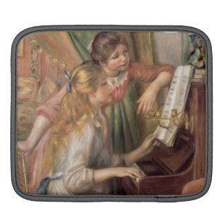 Housse Pour iPad Pierre jeunes filles de Renoir un | au piano