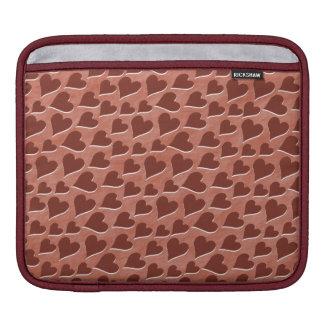 Housse Pour iPad Rose rouge assez inclus de motif de coeurs