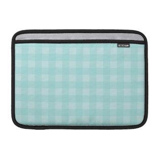 Housse Pour Macbook Air Arrière - plan Checkered de motif de rétro guingan