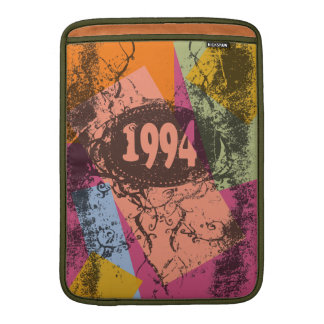 Housse Pour Macbook Air Art de bruit 1994 coloré