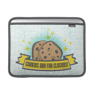 Housse Pour Macbook Air Les biscuits du bébé | de patron sont pour Closers