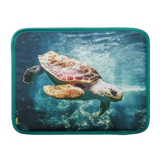 Housse Pour Macbook Air Mer merveilleuse de turquoise de la vie d'océan de