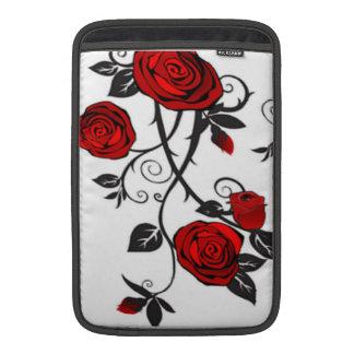Housse Pour Macbook Air Roses rouges