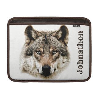 Housse Pour Macbook Air Tête de loup pour les hommes et des garçons d'ado