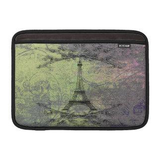 Housse Pour Macbook Air Tour Eiffel vintage