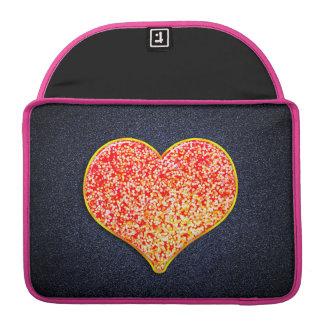 Housse Pour Macbook AMOUR - or rose brillant - Macbook fait sur