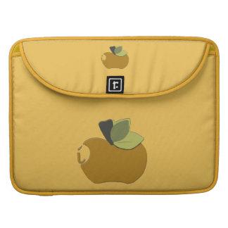 Housse Pour Macbook Apple doré foncé