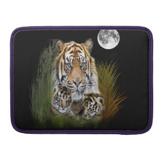 Housse Pour Macbook Art d'animal de tigre