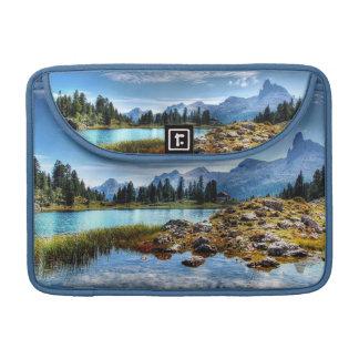 Housse Pour Macbook Douille de Macbook de beau de montagne lac meadows