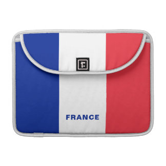Housse Pour Macbook Douille de MacBook de drapeau de la France pro