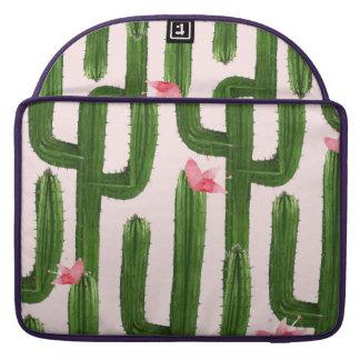 "Housse Pour Macbook Douille heureuse 13"" de macbook de cactus"