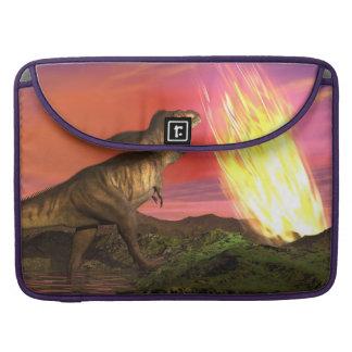 Housse Pour Macbook Extinction des dinosaures - 3D rendent