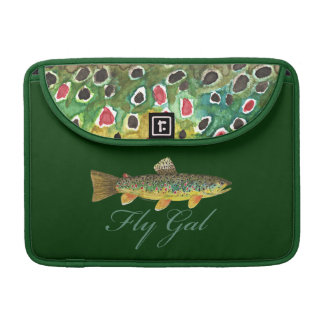 Housse Pour Macbook Femme de pêche de mouche