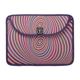 Housse Pour Macbook Hypnose au néon