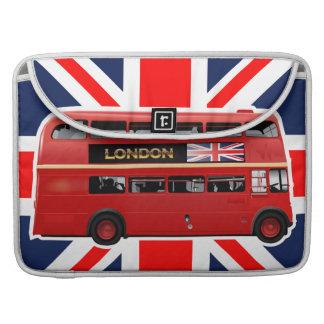 Housse Pour Macbook L'autobus de rouge de Londres