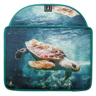 Housse Pour Macbook Mer merveilleuse de turquoise de la vie d'océan de