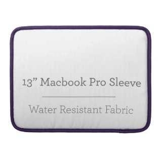 Housse Pour Macbook Pro douille de la coutume 13in Macbook