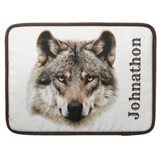 Housse Pour Macbook Tête de loup pour les hommes et des garçons d'ado