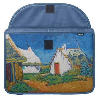 Housse Pour Macbook Trois cottages blancs dans Saintes-Maries par