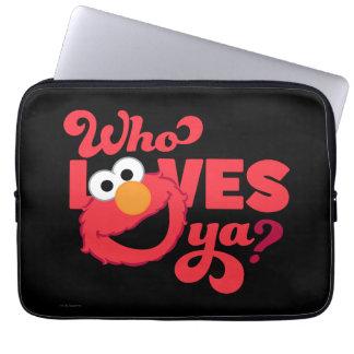 Housse Pour Ordinateur Portable Amour Elmo