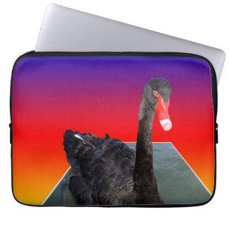 Housse Pour Ordinateur Portable Black_Swan_Rainbow_Popout, _13inch_Laptop_Sleeve