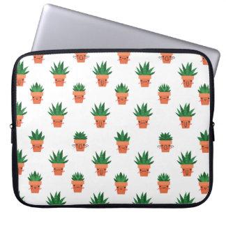 Housse Pour Ordinateur Portable Cactus mignon