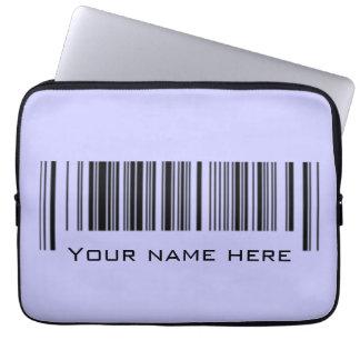 Housse Pour Ordinateur Portable Code barres personnalisable