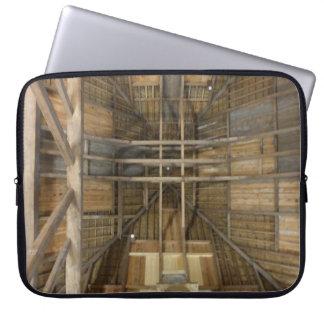 Housse Pour Ordinateur Portable Douille abstraite d'ordinateur portable de dessus