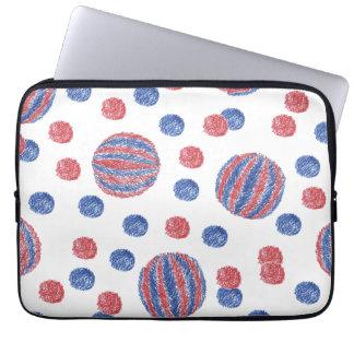 """Housse Pour Ordinateur Portable Douille bleue rouge 13"""" d'ordinateur portable de"""