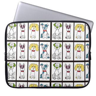 Housse Pour Ordinateur Portable Douille d'ordinateur portable de chien de chien