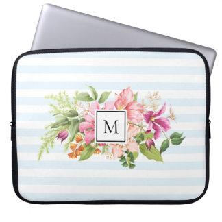 Housse Pour Ordinateur Portable Douille en pastel d'ordinateur portable de rose