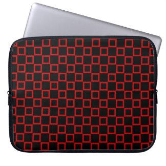 Housse Pour Ordinateur Portable Douille rouge noire classique d'ordinateur