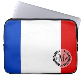 Housse Pour Ordinateur Portable Drapeau de la France