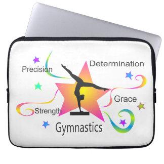 Housse Pour Ordinateur Portable Gymnastique - détermination Grac de résistance à