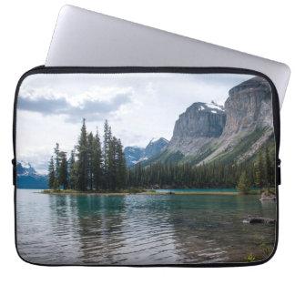 Housse Pour Ordinateur Portable Lac Maligne, Canada, douille d'ordinateur portable
