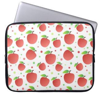 Housse Pour Ordinateur Portable Motif de pommes