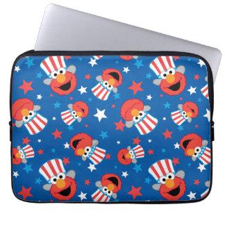 Housse Pour Ordinateur Portable Motif patriotique d'Elmo