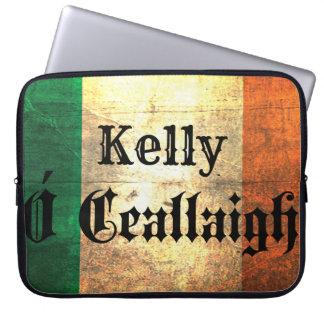 Housse Pour Ordinateur Portable Ordinateur portable irlandais Sleee de drapeau de