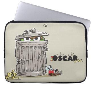 Housse Pour Ordinateur Portable Oscar vintage dans la poubelle