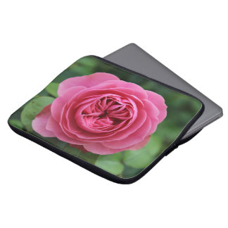 Housse Pour Ordinateur Portable Pochette en néoprène ordinateur port Roses Macro