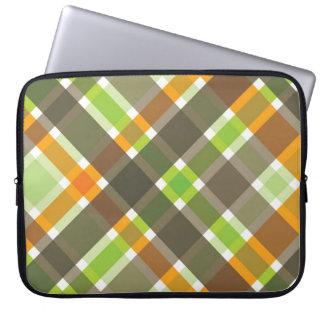 Housse Pour Ordinateur Portable Rétro douille orange d'ordinateur portable de