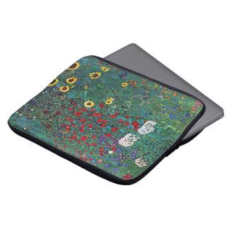 Housse Pour Ordinateur Portable Tournesol de Farmergarden W par Klimt, fleurs
