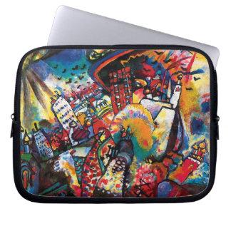 Housse Pour Ordinateur Portable Wassily Kandinsky - art abstrait de paysage urbain