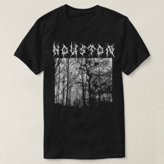 Houston Black Metal le T-shirt Metalshirt