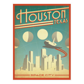 Houston, TX Carte Postale