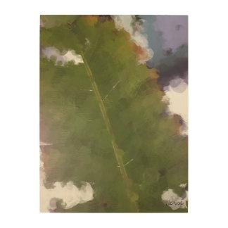 Houten Canvas met het Verlof van de Boom van de Ba